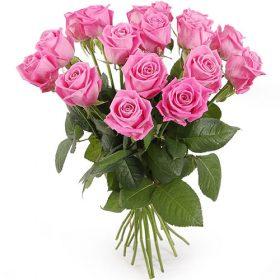 """товар 15 роз """"Аква"""""""