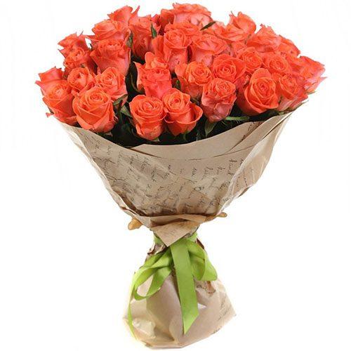 """букет 51 троянда """"Вау"""""""