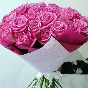 51 яскраво-рожева роза Аква в Трускавці фото