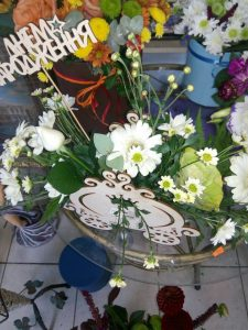 мікс квітів фото