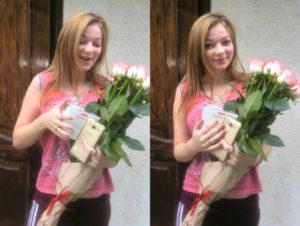 Королева букет розы