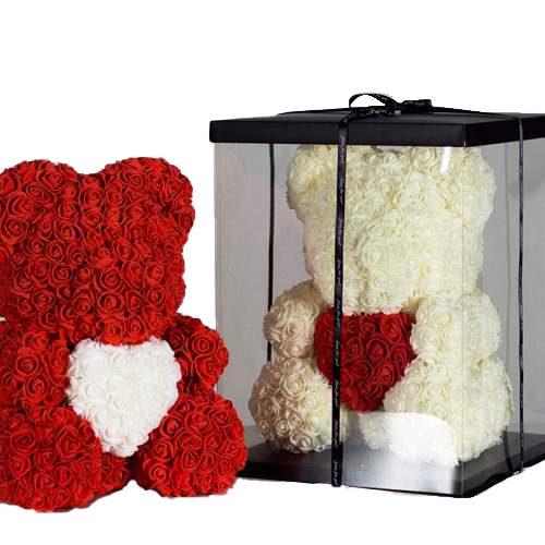 Ведмедик з троянд на замовлення