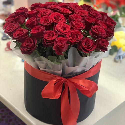 фото 51 розы в шляпке Трускавец