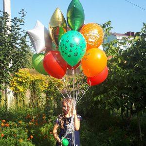 15 воздушных шариков в Трускавце фото